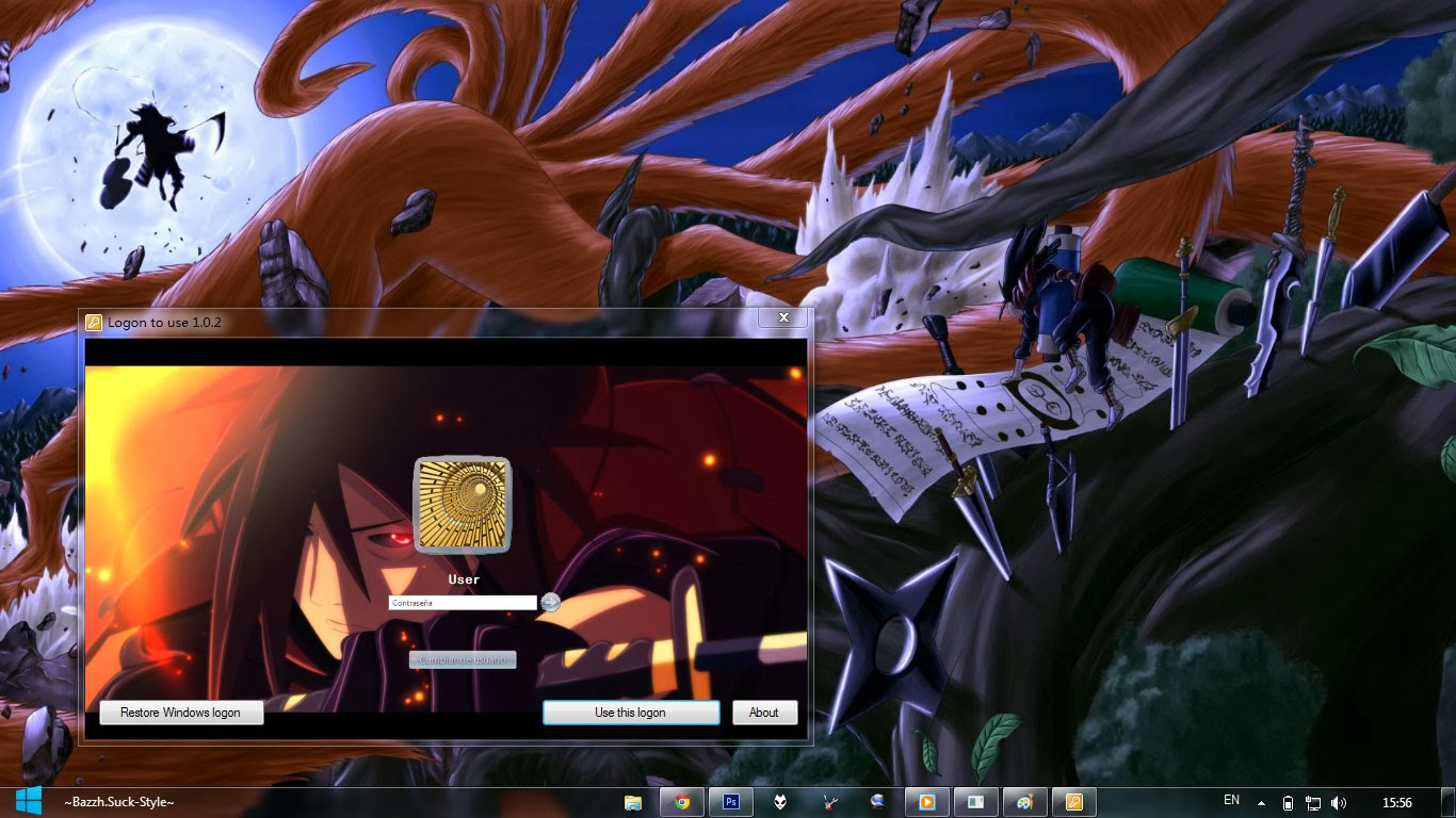 Google themes naruto shippuden