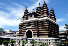 Hohhot Five Pagoda Temple