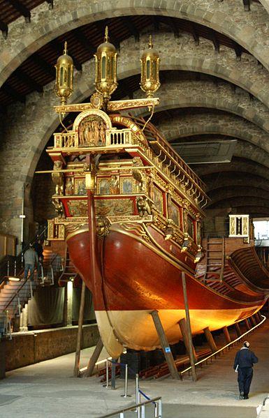 Gambar Kapal Layar Galleas di Museum