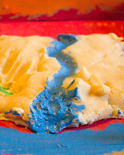 Craft Knife: Painting the Salt Dough Maps of Egypt