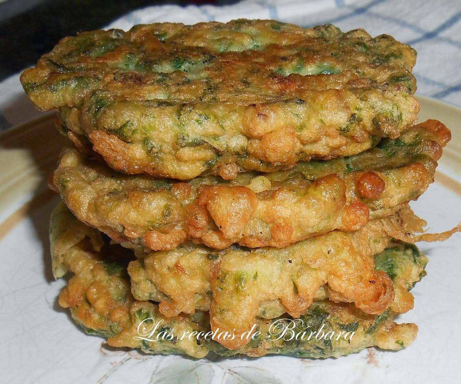 Las recetas de barbara tortitas de acelgas for Cocinar acelgas
