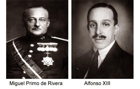 Alfonso XIII - Primo de Rivera --Nunca es tarde (Ángel Marqués Valverde)