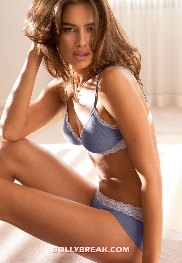 -  Irina Shayk hot lingerie photos