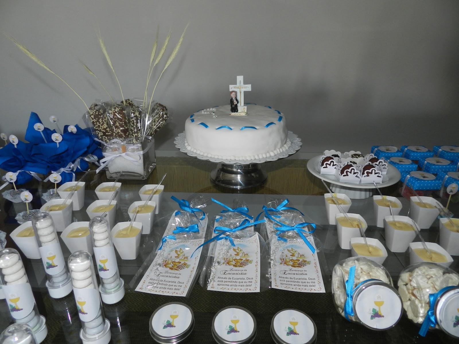 Blog Al u00ea Vieira Decoraç u00e3o para festa de primeira comunh u00e3o -> Decoração De Festa Para Primeira Comunhão