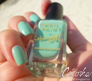 Barry M - Mint Green