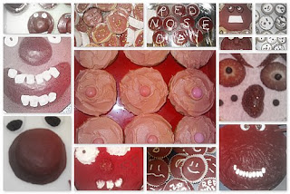 Red Nose Cake Image