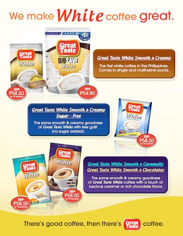 Great Taste White: Choose Great Win Great Promo