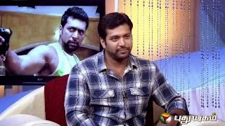 Natchathira Jannal With Actor Jayam Ravi Interview