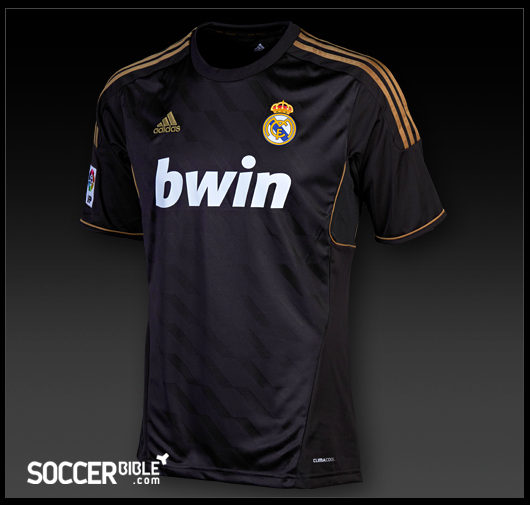 ... change in design and colour for the new Real Madrid 11/12 away shirt