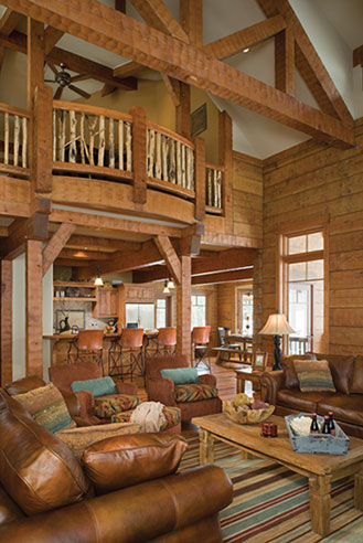 Home design interior exterior decorating remodelling for A frame log cabin floor plans