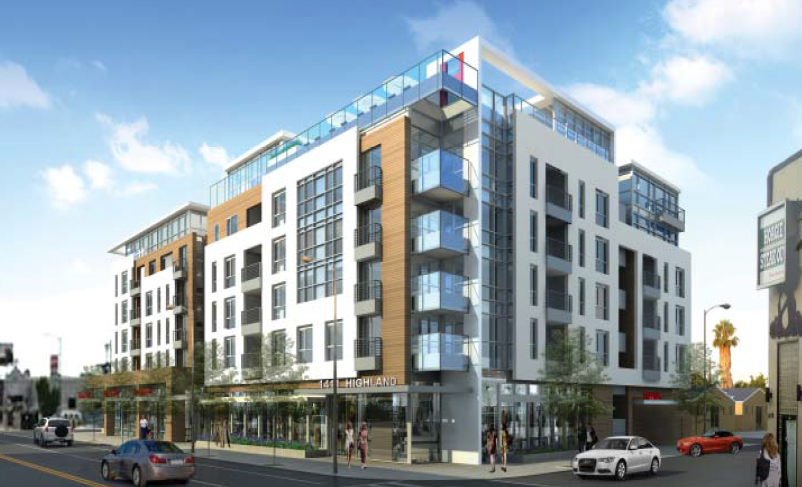 more apartments underway south of hollywood highland