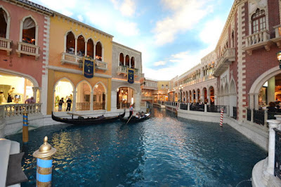 Inside The Venetian Hotel