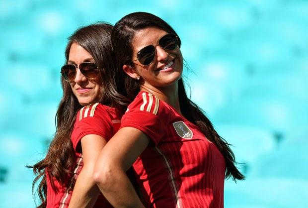 Foto-foto Supporter Cantik Piala Dunia 2014