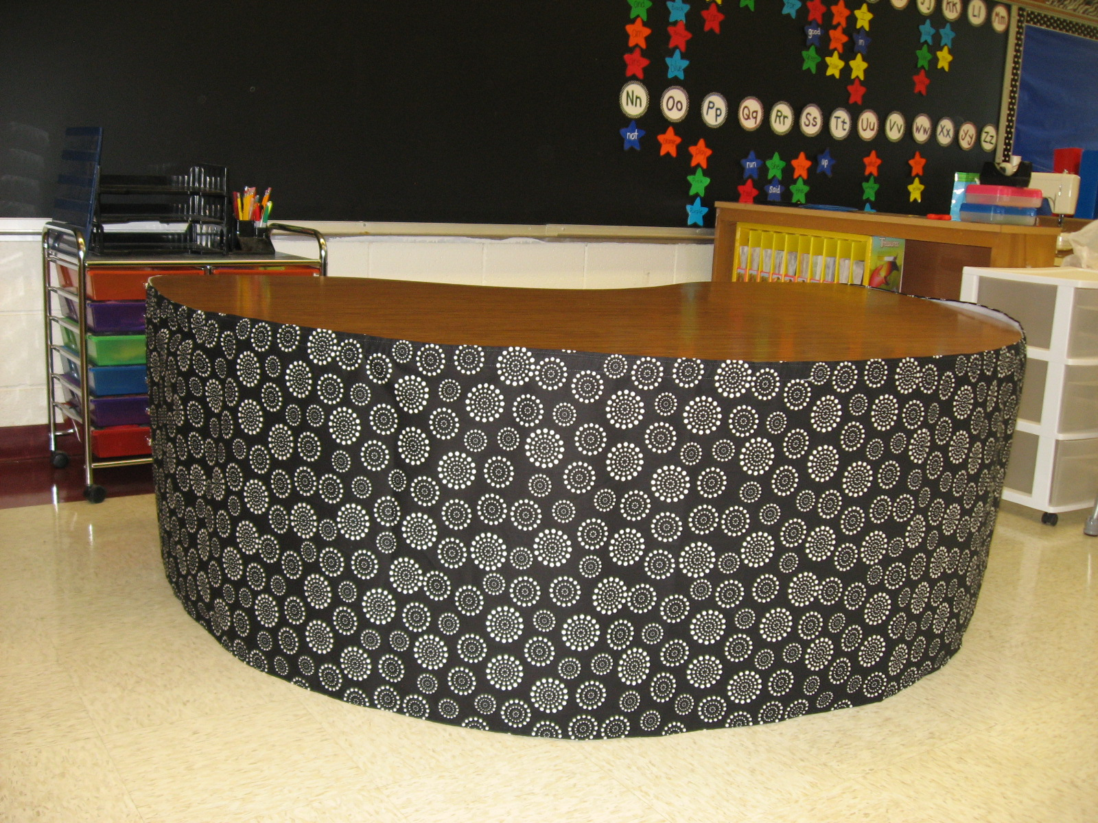 Teacher Table Skirt