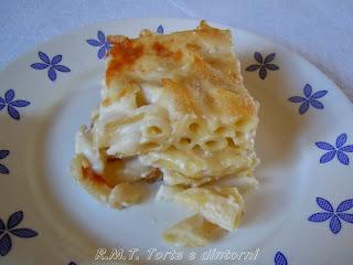 Pasta al gratin