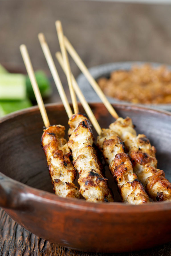 Munch ado About Nothing: Easy Pan-Grilled Chicken Satay