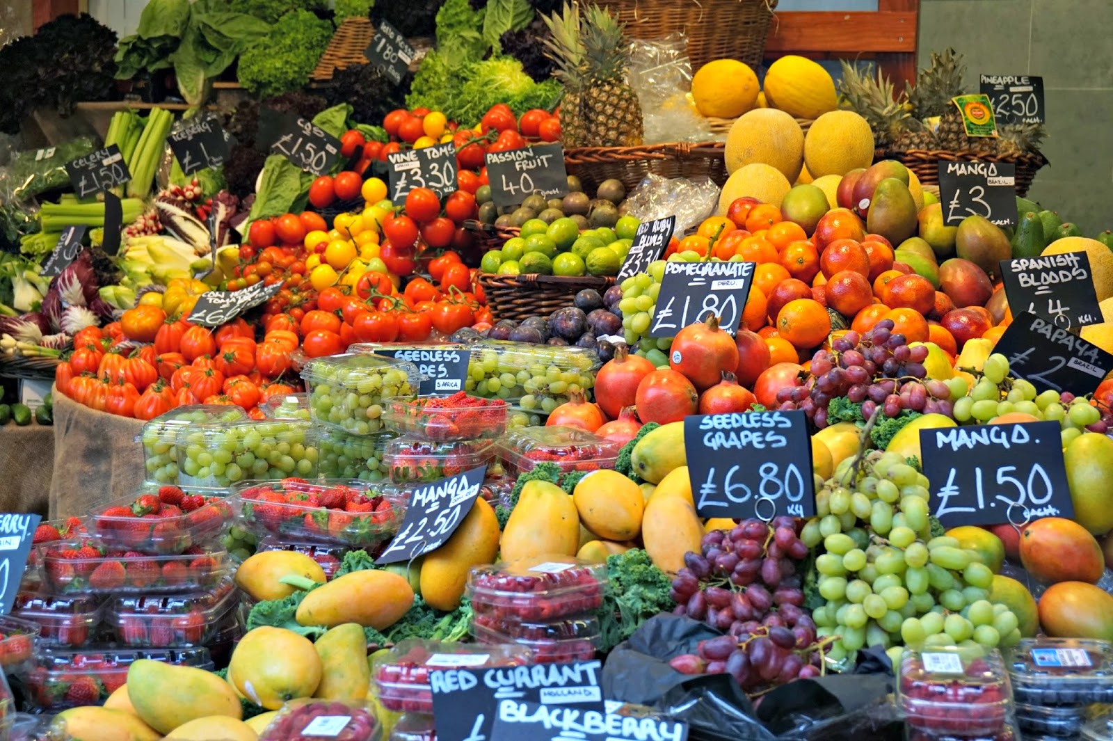 Borough Market Fruit