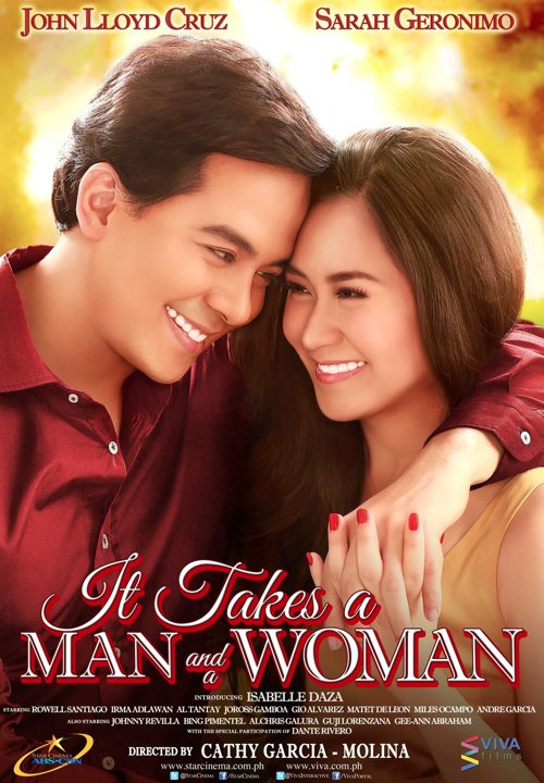 It takes a man and a woman movie cam
