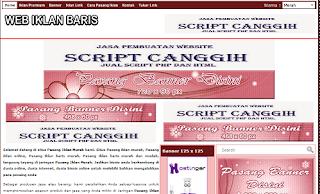 Jasa Pembuatan Website Iklan Baris