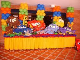 DECORACION CON CARS 2 decoracionesparafiestasinfantiles.blogspot.com/