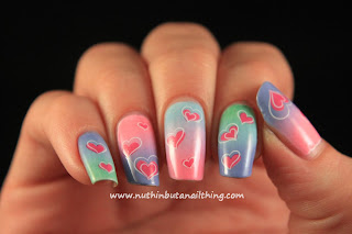 Born Pretty Store - Heart Water Decals Review