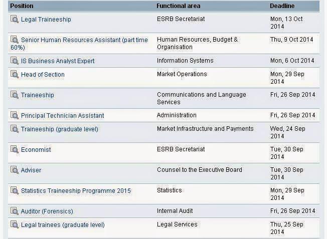 Europe direct regi n de murcia septiembre 2014 for Ofertas de empleo banco exterior