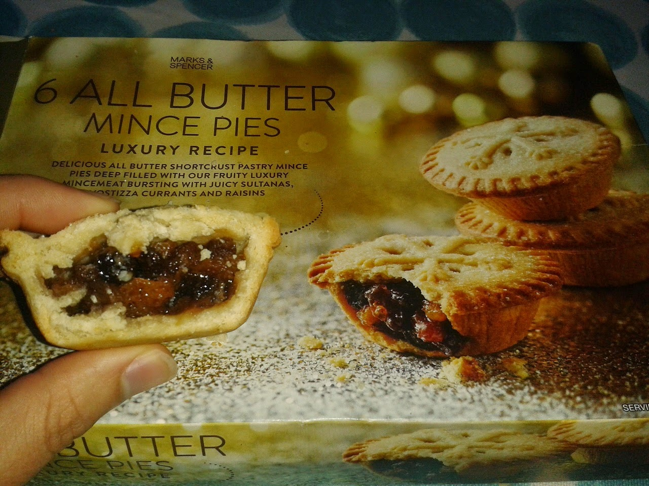 Marks and Spencer All Butter Luxury Mince Pies Review