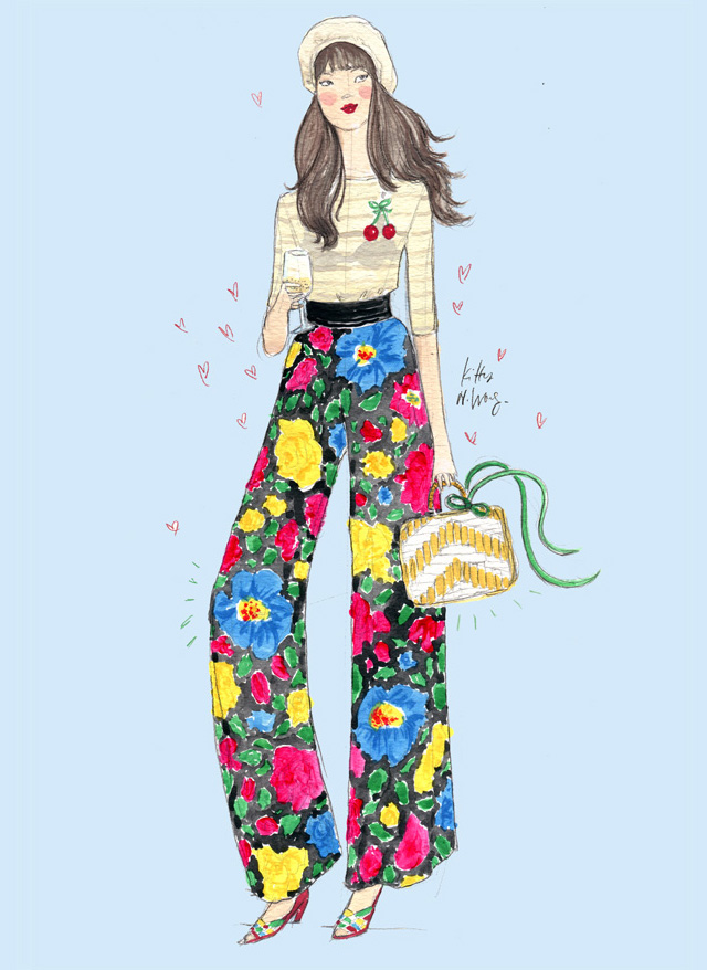 Kitty N. Wong / Fashion Streetstyle Illustration - Lulu