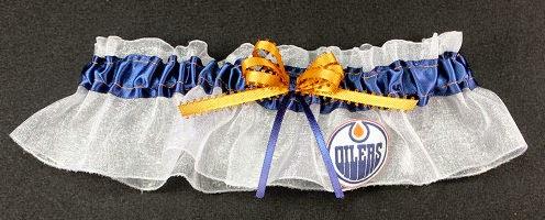 Edmonton Oilers NHL Bridal Garter