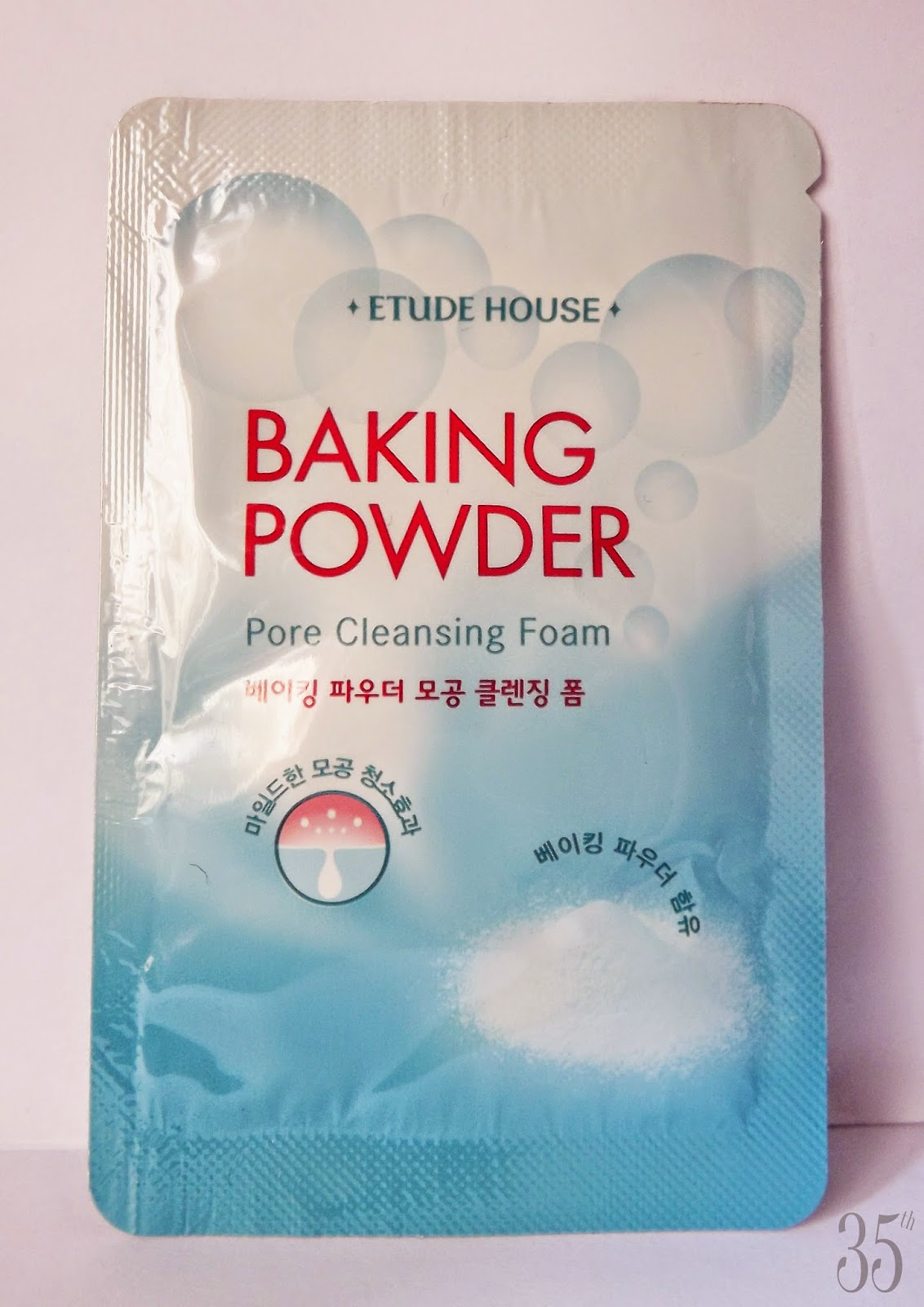 Etude House Baking Powder Pore Cleansing  Foam review