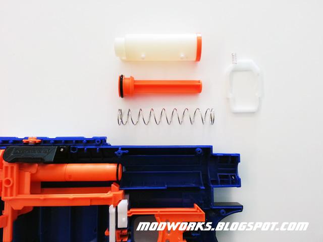 Mod Works Nerf N Strike Elite Retaliator Internals Guide