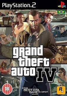 Grand Theft Auto IV PS2 Game