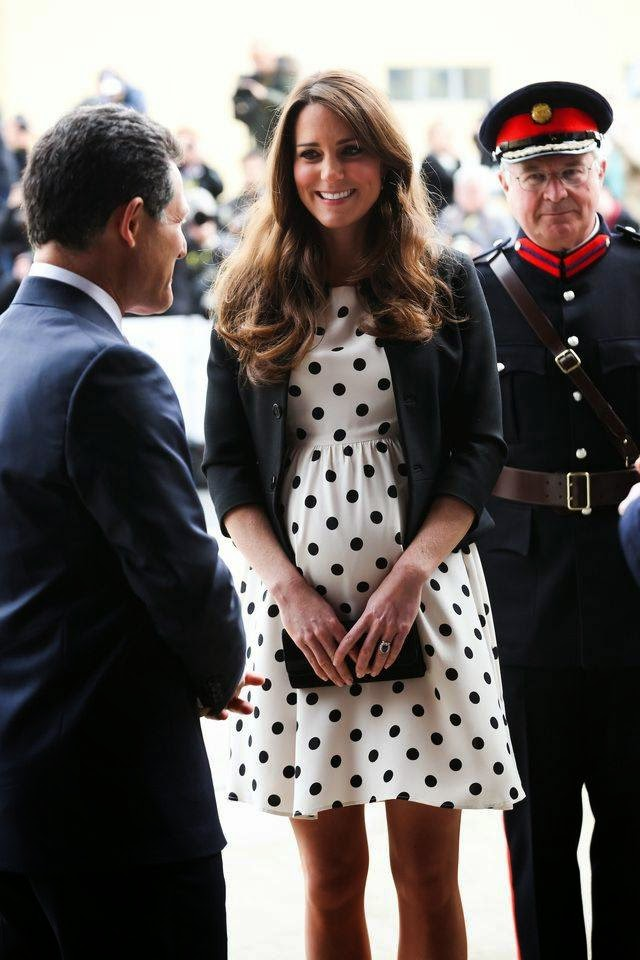 Pregnant Princess Kate Middleton During Pregnancy