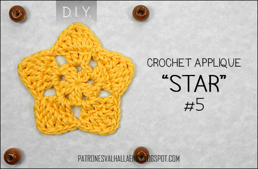 How to Crochet a Star (5) - PATRONES VALHALLA: Free crochet patterns