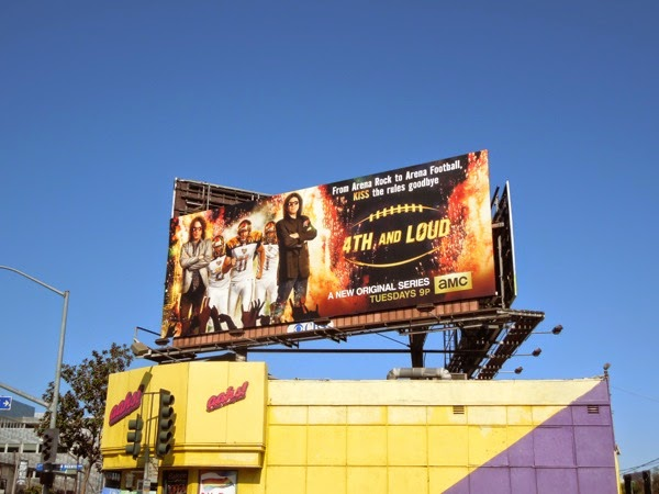 4th and Loud season 1 billboard