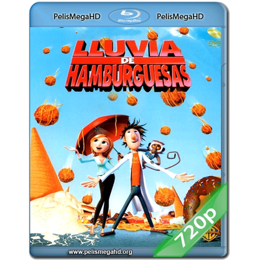 LLUVIA DE HAMBURGUESAS (2009) 720P MKV HD ESPAÑOL LATINO