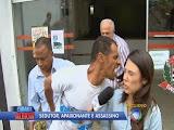 Assassino tenta morder rosto de repórter da TV Record durante gravação