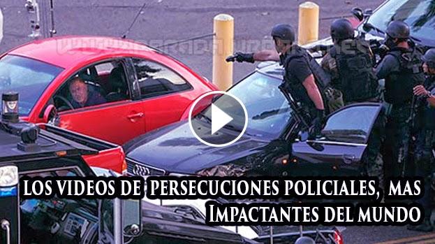 VIDEO INSOLITO - Recopilaciones de Videos de Persecucion Policial mas impactante del Mundo