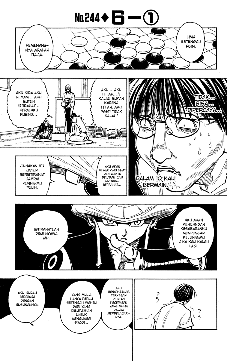 Komik manga HunterXHunter244 p01 shounen manga hunter x hunter