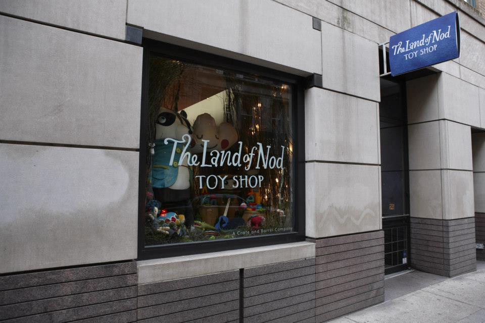 The Land of Nod is a catalog, internet and retail store company, based in Morton Grove, Illinois, specializing in children's furniture, bedding and accessories. The company designs the majority of their items themselves. [citation needed]Founded: In in Highland Park, Illinois.