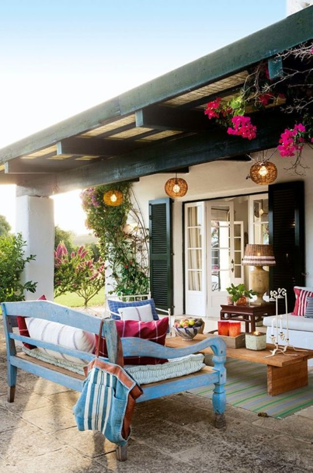 Decotips] Consigue un look de estilo mediterráneo en la terraza ...