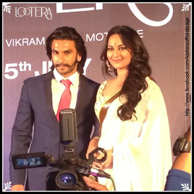 'Lootera'  Movie Trailer launch event Starer Ranveer and Sonakshi