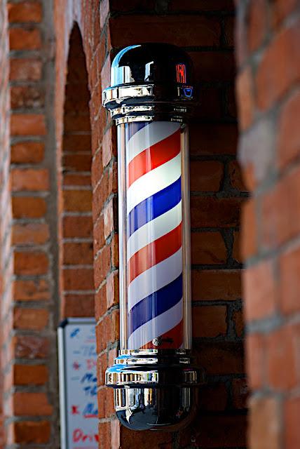 Barber Art : Vintage Barber Art Barber Pole Art