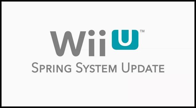 Wii U Spring System Update