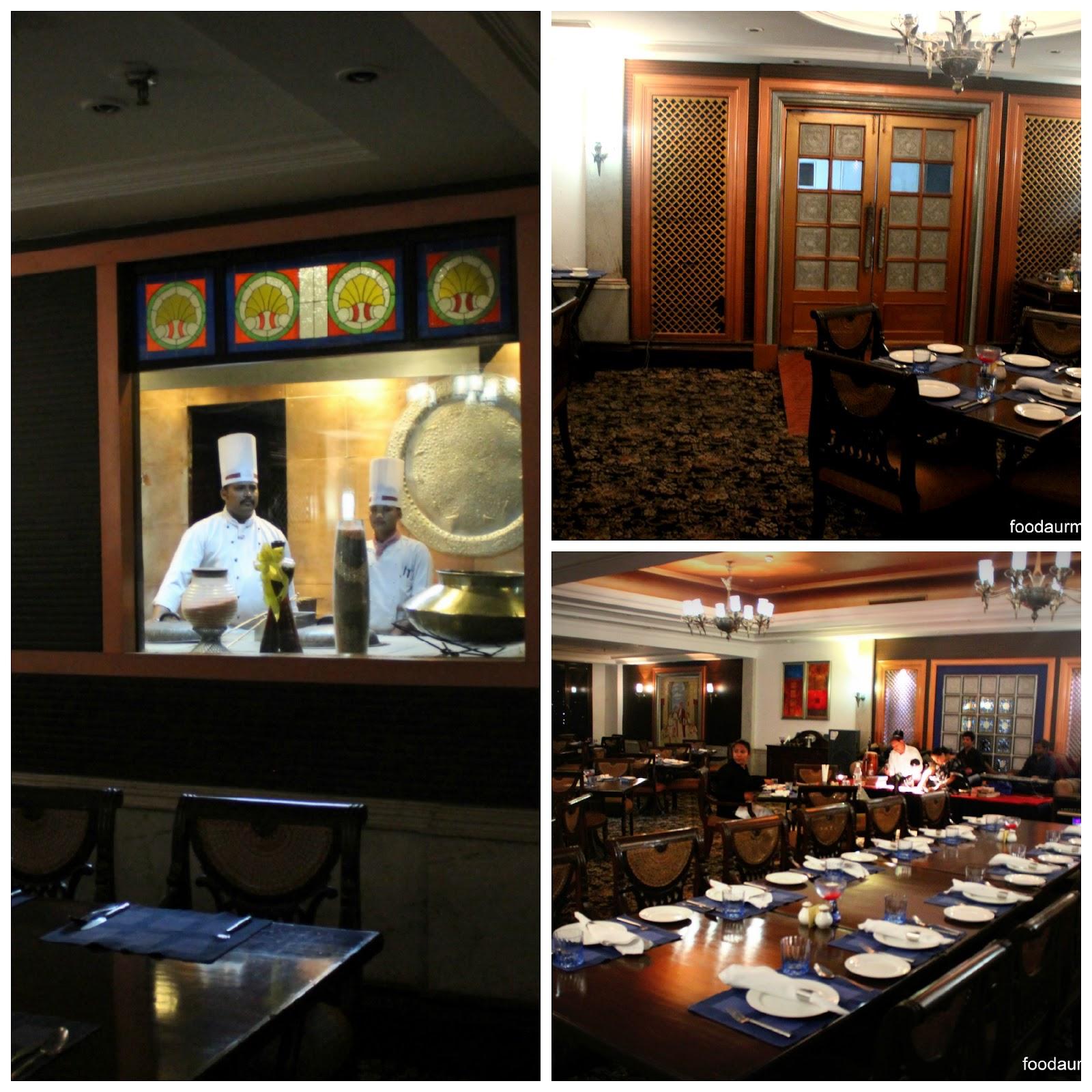 The Luscious Mughlai,Lucknowi food @ zaffran The Bristol Hotel, Gurgaon