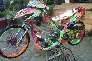 modifikasi mio racing look