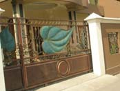 buat pagar besi rumah, conopy, tangga, balkon