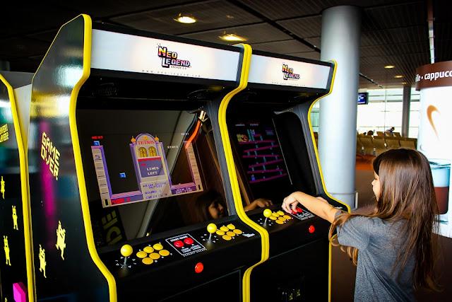 Las máquinas arcade de Neo Legend amenizarán las esperas para embarcar en los aeropuertos parisinos