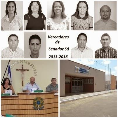 21ª Sessão ordinária da câmara municipal de Senador  Sá - CE - 02/12/13