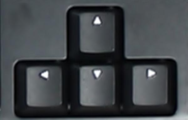 Fléches de clavier